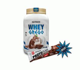 Whey Grego (900g) + Protobar (70g)